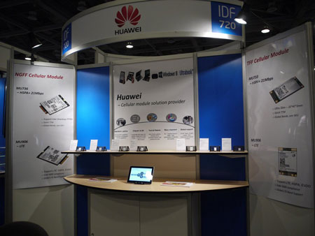 IDF 2012, выставка: Huawei, DTS и Portrait Displays