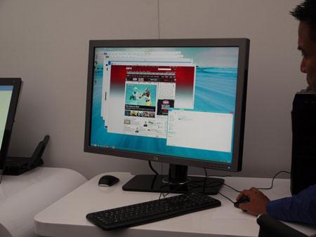 IDF 2012, ���� ������: Advanced Technologies Zone, ��� ������������ Windows 8 �� ������� ��