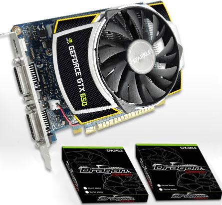 Sparkle комплектует 3D-карту GeForce GTX 650 Dragon Cyclone сменными вентиляторами