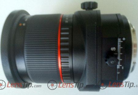 Появилось первое изображение объектива с коррекцией перспективы Samyang 24mm f/3.5