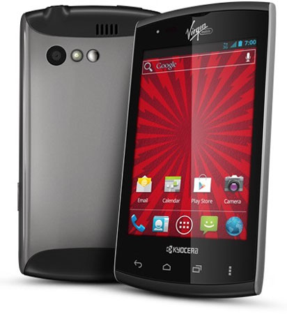 В США начались продажи бюджетного смартфона Kyocera Rise с выдвижной клавиатурой