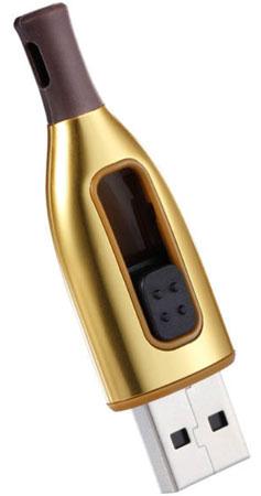 «Флэшка» ADATA DashDrive Choice UC500 — данные в винной бутылке