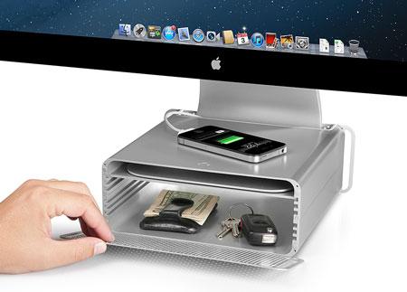 Подставка Twelve South HiRise предназначена для мониторов и моноблочных ПК Apple
