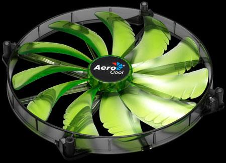 AeroCool выпускает 200-миллиметровые вентиляторы SilentMaster с подсветкой