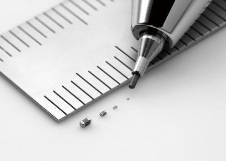 Murata выпускает самый маленький в мире монолитный керамический конденсатор