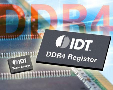 IDT начинает поставки компонентов для модулей памяти DDR4