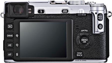 Основой беззеркальной камеры FUJIFILM X-E1 стал датчик изображения X-Trans CMOS формата APS-C разрешением 16 Мп