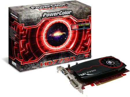 PowerColor ставит 4 ГБ памяти DDR3 на 3D-карту Radeon HD 7750