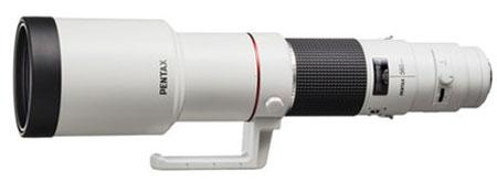 Объектив HD PENTAX DA 560mm F5.6 ED AW имеет всепогодное исполнение