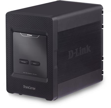 D-Link ориентирует хранилище ShareCenter 4-Bay Cloud Storage 4000 на домашних пользователей и небольшие офисы