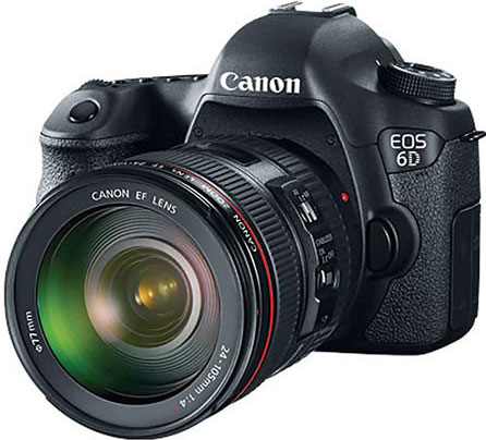 Canon готовит к выпуску зеркальную камеру EOS 6D