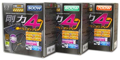 Scythe включает в серию Gouriki 4 блоки питания мощностью 500, 600 и 700 Вт