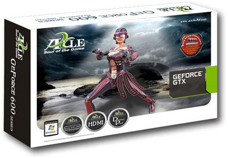3D-����� AXLE GeForce GTX 660Ti �������� ����� � ����� �������������