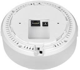 Беспроводная точка доступа ZyXEL NWA1121-N1 напоминает детектор дыма