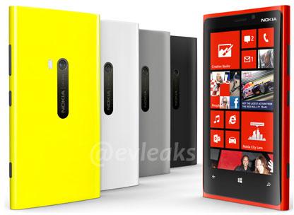 Накануне выхода смартфона Nokia Lumia 920 появились его новые изображения