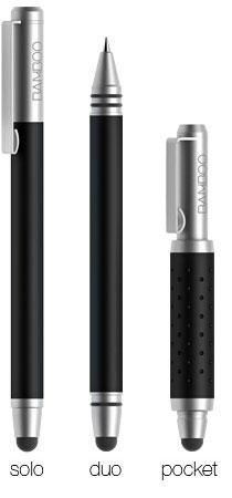 Перо Bamboo Stylus pocket предназначено для смартфонов и планшетов
