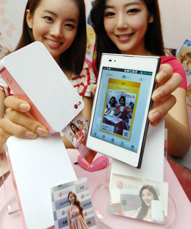 LG Pocket Photo � ��������� ������� ��������� 7,2 � 12,1 � 2,4 ��