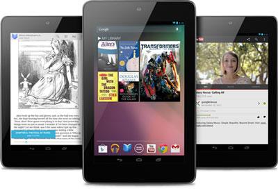 � ������� Google ���������� ��������� ������� Nexus 7 � ���������� 3G