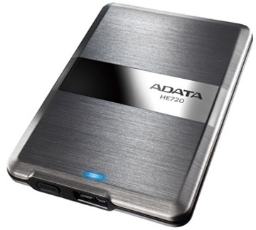 �������� ADATA DashDrive Elite HE720 ����� 117 x 79 x 8,9 ��