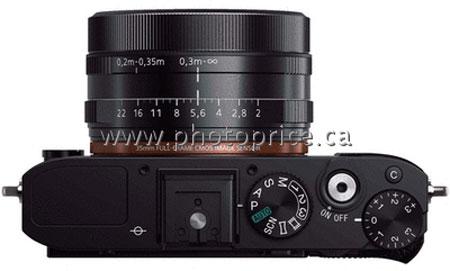 Компактная камера Sony RX1 получит полнокадровый датчик разрешением 24 Мп