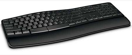 Microsoft представила клавиатуру Sculpt Comfort Keyboard для Windows 8