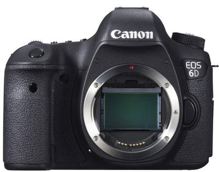 Canon EOS 6D — самая легкая и компактная полнокадровая зеркальная камера в ассортименте японского производителя