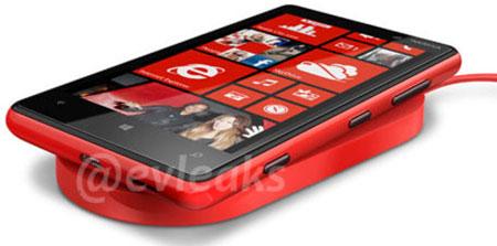 Nokia Lumia 820 и беспроводное зарядное устройство
