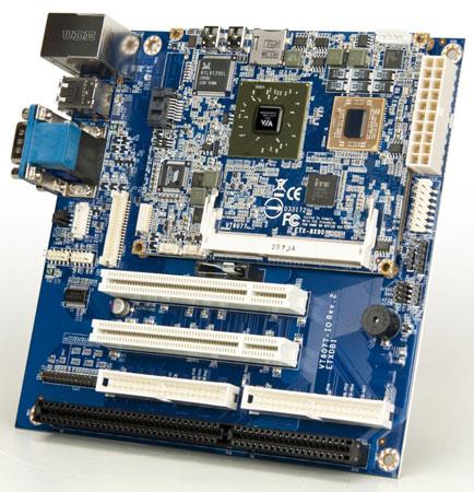 VIA дебютирует в сегменте модулей ETX с моделью ETX-8X90
