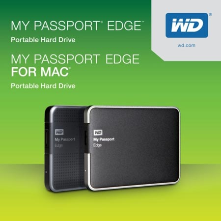 WD начинает поставки внешних накопителей My Passport Edge и My Passport Edge for Mac