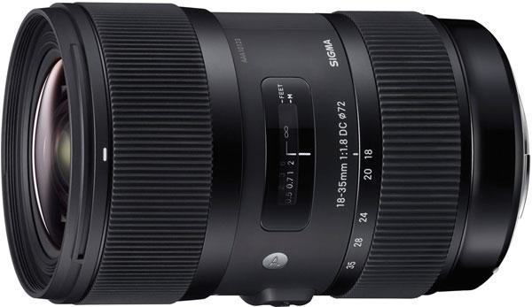 Объектив Sigma 18-35mm F1.8 DC HSM Art предназначен для камер формата APS-C