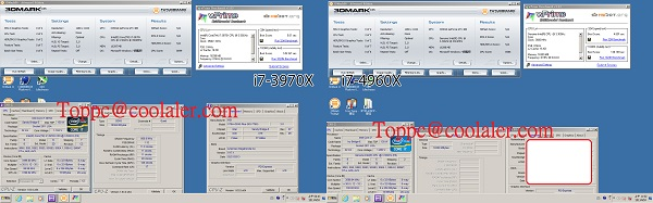 Intel Core i7-4960X (Ivy Bridge-E) и Intel Core i7-3970X (Sandy Bridge-E)