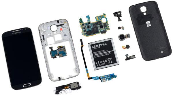 � ������ ����������� Samsung Galaxy S4 ����������� iFixit ������� ������ ������ �������