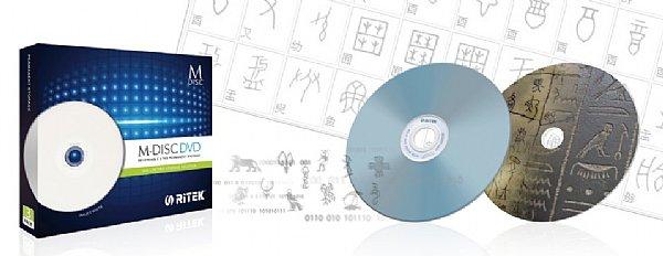 ������� ����� Ritek M-Disk DVD ����� 4,7 ��