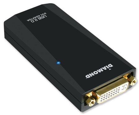Diamond Multimedia выпускает адаптеры BVU165 и BVU165LT для подключения мониторов к портам USB