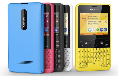 Nokia Asha 210 � ������ � ���� ������� � ������� WhatsApp