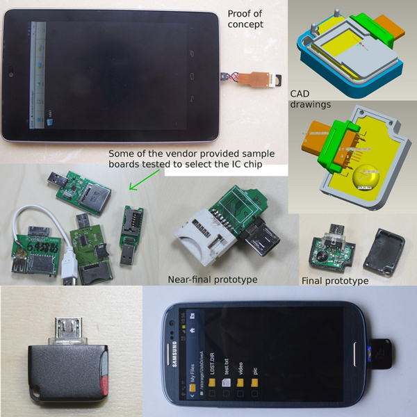 ����������� ��������� � �������� micro-USB ������������ ��� ��������� ��������� � �� Android