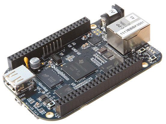 В конфигурацию BeagleBone Black входит 512 МБ оперативной памяти