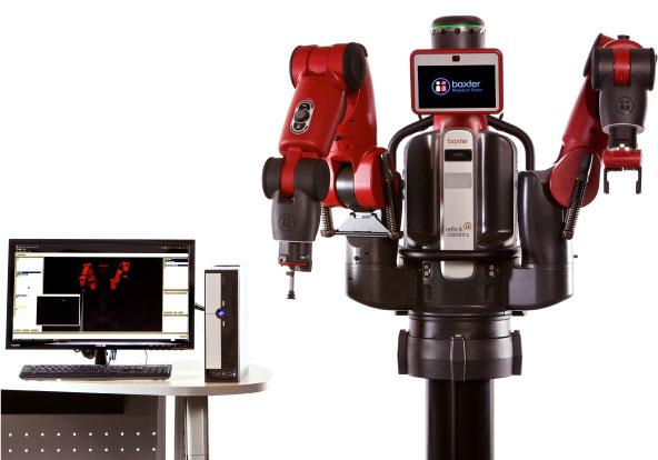 Новый SDK позволяет многому научить робота Baxter Research Robot