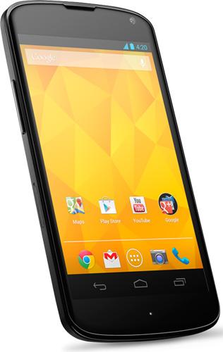 Google Nexus 4, ��������, ����� ���������� � ����� �����������