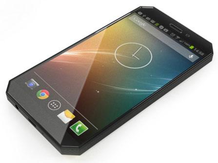 Концептуальный смартфон Nexus 6 (X Phone) работает под управлением воображаемой версии ОС Android 6.0 Milkshake