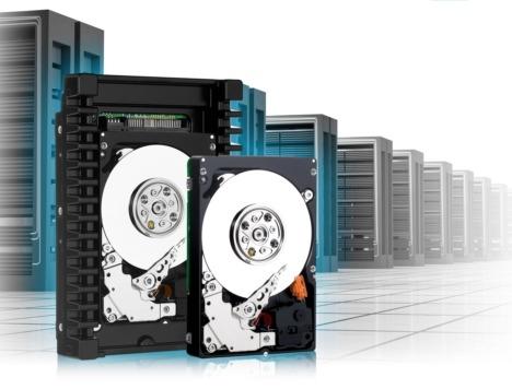 В накопителях WD3001HKHG, WD6001HKHG, WD4501HKHG и WD9001HKHG жесткие диски типоразмера 2,5 дюйма установлены в специальных адаптерах