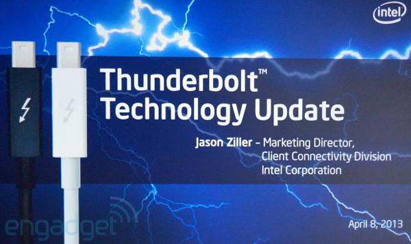 Intel ���������� ���������� �������� Thunderbolt �� 20 ����/�