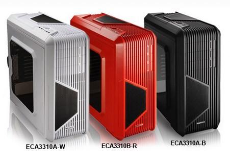 Доступно три цветовых варианта корпусов Enermax iVektor: черный, красный и белый