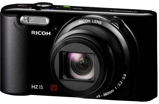 � ������ Ricoh HZ15 ������������ ������ ����������� ���� CCD ������� 1/2,3 �����