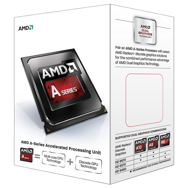 В состав APU AMD A10-6700T входит четыре ядра Piledriver