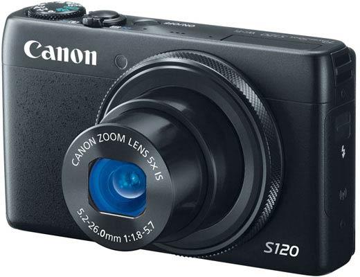 ������ ����� ������� ����� ������ Canon PowerShot S120 ������� �� ��������� 12,1 �/�