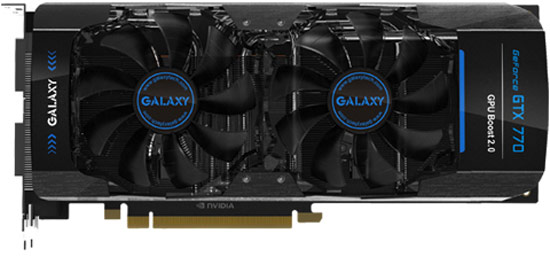 Цена 3D-карты Galaxy GeForce GTX 770 GC 4 GB равна $460