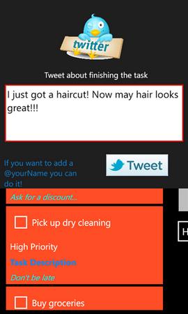Twitter Tasks