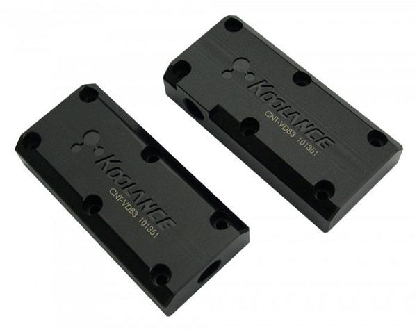 Ассортимент Koolance пополнили блоки для соединения водоблоков нескольких 3D-карт GTX 780 и Titan