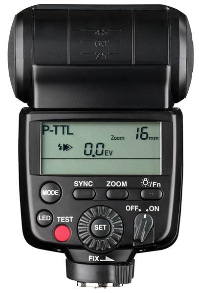 Вспышки Ricoh Imaging AF540FGZ II и AF360FGZ II можно использовать для подсветки при видеосъемке